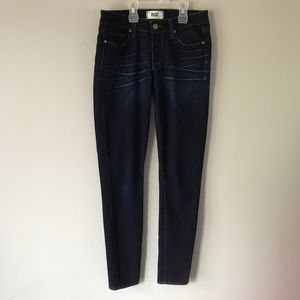 Paige peg super skinny pinnacle wash jeans 27